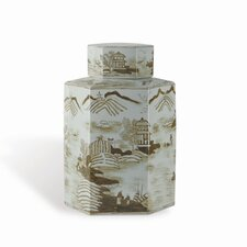 Canton Large Caddy Decorative Jar