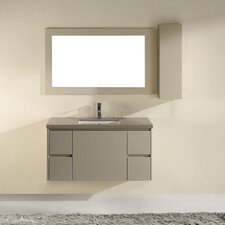"Barros Wall Mount 42"" Bathroom Vanity Set"
