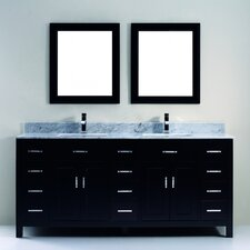 "Celize 75"" Bathroom Vanity Set"
