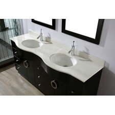 "Zed 72"" Double Bathroom Vanity Set"