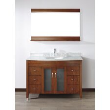 "Alfa 48"" Single Bathroom Vanity Set"
