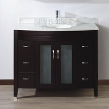 "Alfa 42"" Single Bathroom Vanity Set"