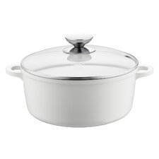 Vario Click 4.25-qt. Cast Aluminum Round Dutch Oven with Lid