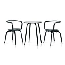 Parrish Upholstered 3 Piece Dining Set