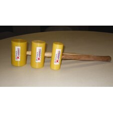 Flat Face Mallet (Set of 3)