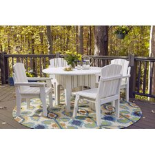 Carolina Preserves 5 Piece Dining Set