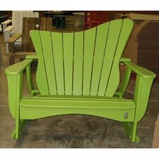 <strong>Uwharrie Chair</strong> Wave Settee Rocking Chair