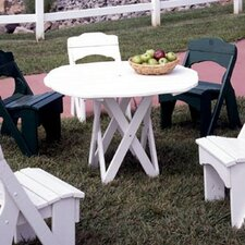 <strong>Uwharrie Chair</strong> Harvest Round Picnic Table