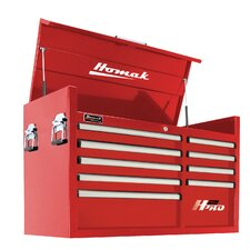 """H2PRO 24.5"""" Wide 9 Drawer Top Chest"""