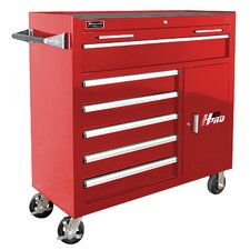 """H2PRO 41"""" Wide 6 Drawer Rolling Cabinet"""