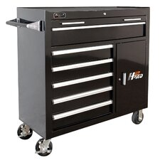"""H2PRO 41"""" Wide 6 Drawer with INT 2 Drawer Rolling Cabinet"""