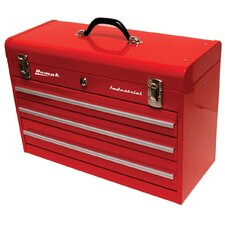 Indust 3-Drawer Friction Toolbox