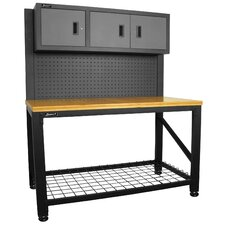 "Reloading Ammo Workstation 59"" Wide 3 Drawer Cabinet"