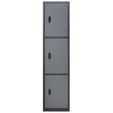 3 Tier 1 Wide Door Locker