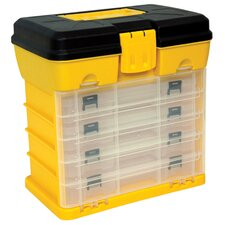 "Portable 12.5"" Plastic Parts Organizer"