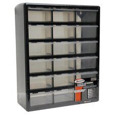 "15.75"" Wide 18 Drawer Middle Cabinet"