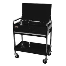 "Professional 32"" Wide 1 Drawer Service Cart"