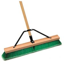 18 Push Broom Indr Sft Grn/Grey Assembled