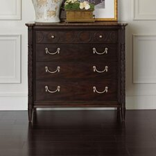 Charleston Regency 4 Drawers  Chest