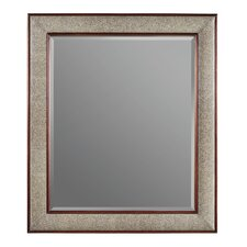 Continuum Mirror with Upholstered Frame