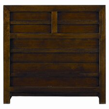 Modern Craftsman Prairie School 4 Drawer  Bachelor's Chest