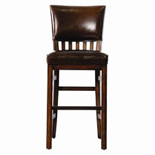 Modern Craftsman Morris School Bar Stool in Tobacco