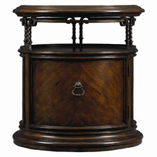 Costa Del Sol Volute Capstan End Table