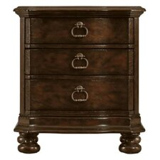 European Farmhouse Maisonette 3 Drawer Nightstand