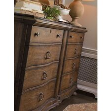 European Farmhouse Maisonette 8 Drawer Dresser