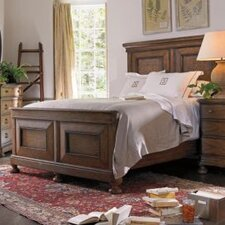 European Farmhouse Old Salt Road Panel Bed