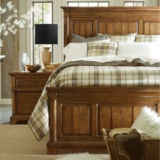 The Classic Portfolio British Colonial Panel Bed