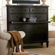 The Classic Portfolio European Cottage 6 Drawer Media Chest