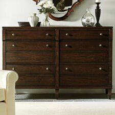 Avalon Heights Straight Front 6 Drawer Dresser