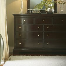 <strong>Stanley Furniture</strong> The Classic Portfolio Transitional 9 Drawer Dresser