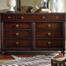 <strong>Stanley Furniture</strong> The Classic Portfolio British Colonial 9 Drawer Dresser