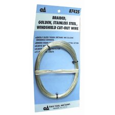 Gold Ss Windshield Cut Out Wire