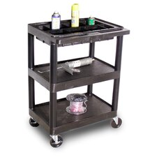 <strong>Luxor</strong> Black Utility Cart