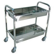 "35.5"" Stainless Steel Cart"