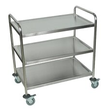 <strong>Luxor</strong> Stainless Steel Cart