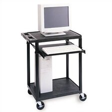 <strong>Luxor</strong> Workstation with One  Adjustable Pull-Out Shelf