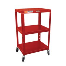 <strong>Luxor</strong> H Wilson Adjustable Height AV Cart