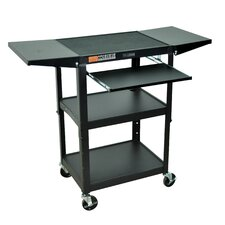 Adjustable Height Workstation and Presentation Center
