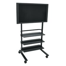 "<strong>Luxor</strong> 31.5"" LCD TV Stand with Shelves"