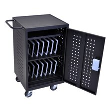 30-Compartment Charging Cart