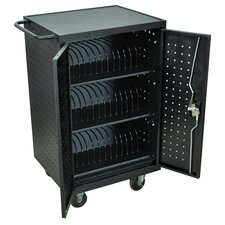 36-Compartment Laptop Tablet Charging Cart
