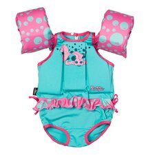 PFD Puddle Jumper Suit Girl Fish C004