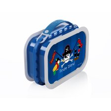Deluxe Lunchbox with Pirates Design in Blue