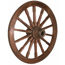 Prairie Antique Wagon Wheel