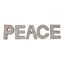 Chris Bruning PEACE Lettering Wall Décor
