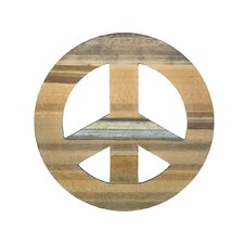 <strong>Groovystuff</strong> Chris Bruning Sahara Peace Sign Wall Décor